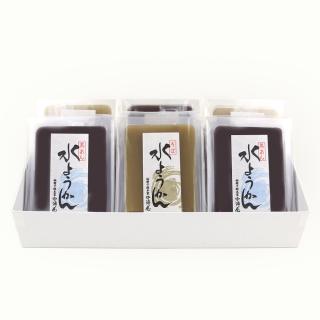 水羊羹(黒あん・蕎麦)