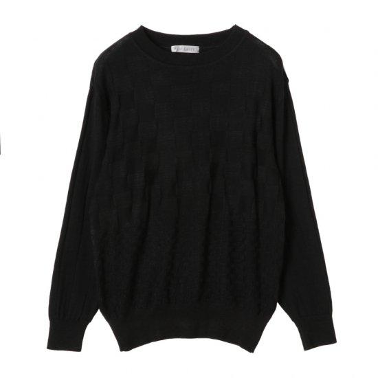 丸首セーター