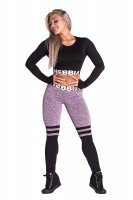 NEBBIA Socks LEGGINGS Purple