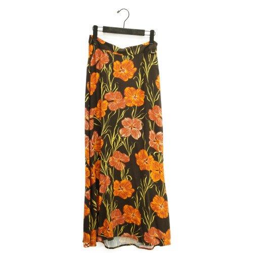 【SALE60%オフ】NUMPH ニンフ<br>ヴィンテージフラワーマキシスカート<br>デンマーク/メール便対応可能