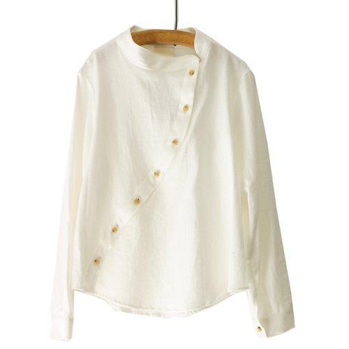 【再入荷しました】Citta シッタ<br>カーブラインシャツ<br>送料無料/メール便対応可能/日本
