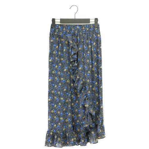 【SALE50%オフ】FRNCH フレンチ<br>フラワープリントスカート<br>/ フランス