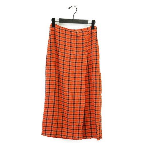 【SALE50%オフ】Nice Things ナイスシングス<br>エアリービスコースチェック柄スカート<br>スペイン/メール便対応可能