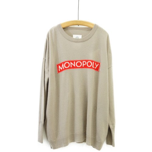 STOF ストフ<br>MONOPOLY モノポリーセーター<br>送料無料 /日本