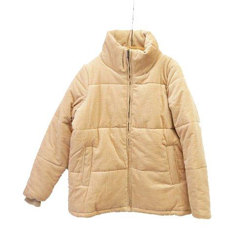 【SALE60%オフ】NUMPH ニンフ<br>コーデュロイ中綿ジャケット<br>デンマーク