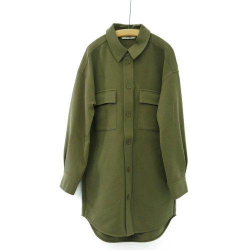 AND LESS アンドレス <br>シャツジャケット<br> 送料無料/デンマーク