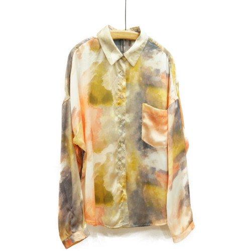 FRNCH フレンチ<br>タイダイプリントシャツ<br>送料無料/メール便対応可能/ フランス