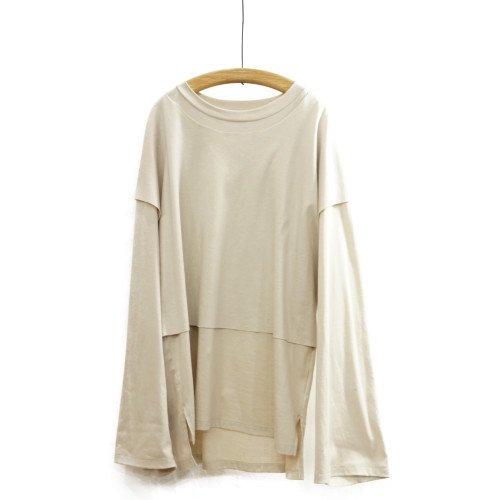 My Beautiful Landlet マイビューティフルランドレット<br>layerd L/S T-shirt<br>メール便対応可能/日本