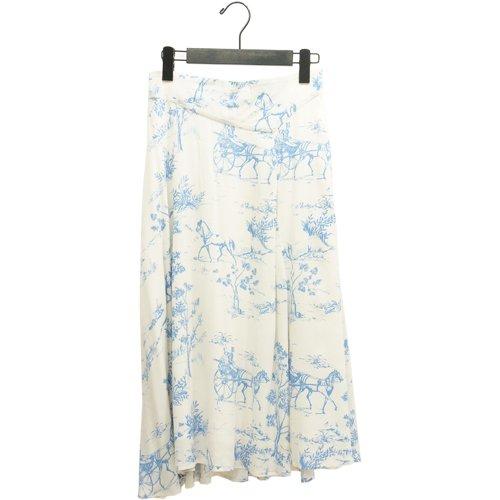 【SALE60%オフ】<br>NUMPH ニンフ<br>ホースプリントスカート <br>デンマーク /メール便対応可能