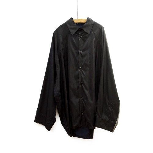 My Beautiful Landlet マイビューティフルランドレット<br>nylon ripstop shirt<br>送料無料/メール便対応可能/日本