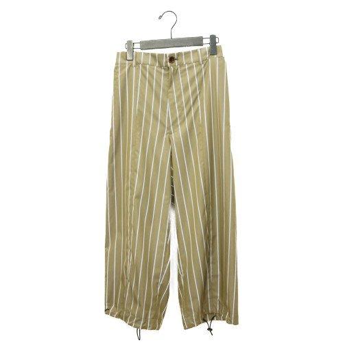 My Beautiful Landlet<br>typewriter stripe spindle pants<br>送料無料/メール便対応可能/日本