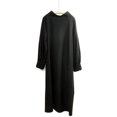 SI HIRAI スーヒライ<br>ロングワンピース/rubber cuff Dress<br>送料無料/日本