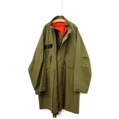 【再値下げ40%オフ★MORE SALE】My Beautiful Landlet マイビューティフルランドレット<br>ripstop military coat<br>送料無料/日本