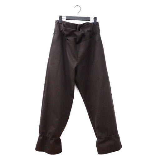 【再値下げ40%オフ★MORE SALE】My Beautiful Landlet マイビューティフルランドレット<br>STRETCH DOUBLE CLOTH パンツ<br>送料無料/日本