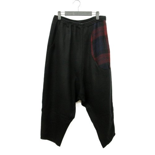 STORAMA ストラマ<br>Big hole wool wide pants<br>送料無料/Japan