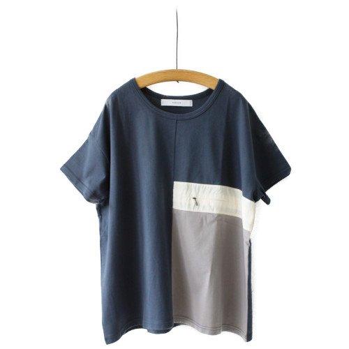 【2021夏SALE】SNEEUW スニュウ<br>パネルTシャツ<br>メール便対応可能/日本