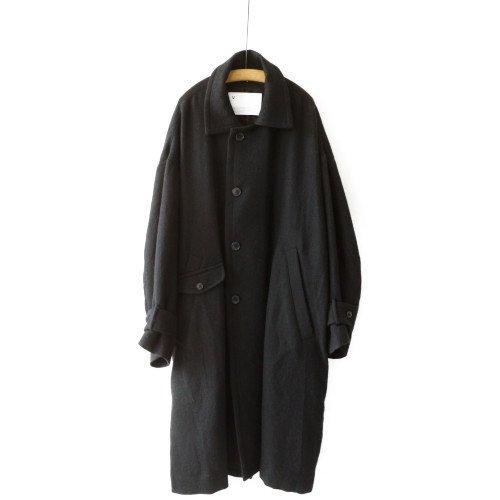 VOAAOV ヴォアーブ<br>soft wool twill long coat ウールコート /VOCO-G62 <br>送料無料/日本