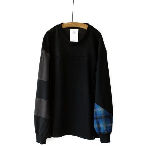 STOF ストフ<br>Mad Patchwork L/S Tee ロングスリーブTシャツ <br>送料無料/日本