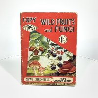 イギリス 1954年 I-SPY 探偵本<br>WILD FRUITS and FUNGI