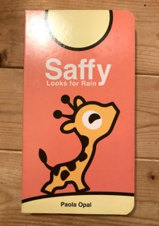 Saffy looks for rain【英字】