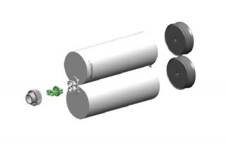 Micoat™スプレーシステム用カートリッジセット1:1(1500ml)