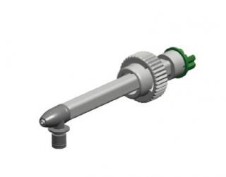 Mixcoat™スプレーシステム専用ミキサーMFQ08-24C-11 中流量+回流防止付き