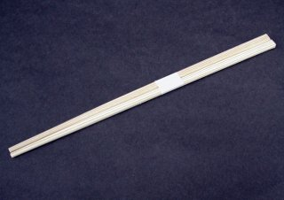 杉あすか箸24cm 白帯巻(2500膳入)