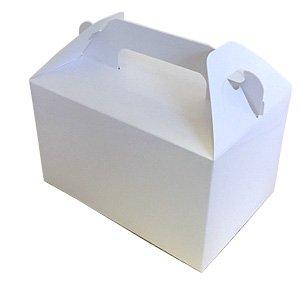 ケーキ箱 ハンドBOX白 2個用 3.5x5 手付(10枚入)
