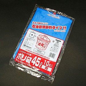 ポリ袋LD25-45 45L青(10入)