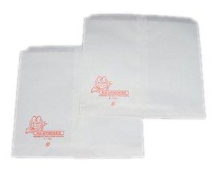 ニュー耐油・耐水紙袋 平袋F-中(500枚入)