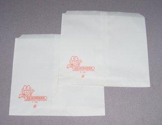 ニュー耐油・耐水紙袋 平袋F-小(500枚入)