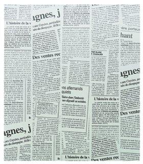 WAXペーパー 21.8-25 ニュースレター黒(100枚入)