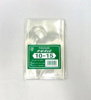 オーピーパック 10-5 (横100mm x 縦150mm) OPP透明袋(100枚入)