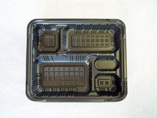 RP-4-2H 黒 本体 福助工業【弁当容器】