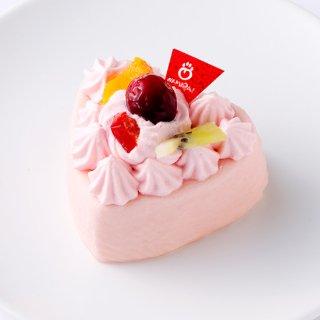 【わんちゃん用】NAMARA!ハートチーズ・いちご(冷凍品)