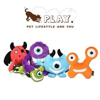 【P.L.A.Y 犬用おもちゃ】モンスター