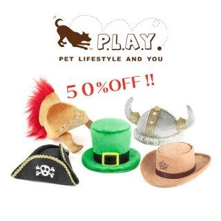 【P.L.A.Y 犬用おもちゃ】マットハッター