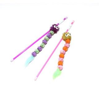 【ROOP 猫用おもちゃ】ロッディーズ・キラキラワーム