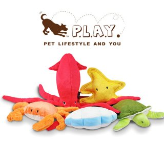 【P.L.A.Y 犬用おもちゃ】アンダー・ザ・シー