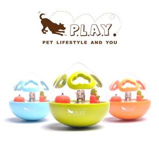 【P.L.A.Y 犬用おもちゃ】知育おもちゃ ワブルボール