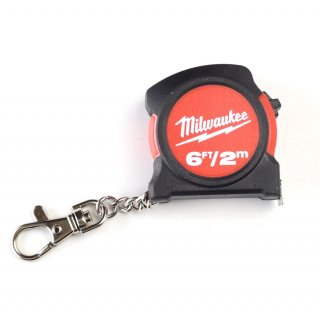 ★USA PRODUCT★Milwaukee 6ft / 2m Keychain Tape Measure