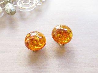 アンバースパイラルラル イヤープット 琥珀 Amber-Spiral