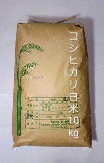 令和2年 会津・喜多方産 コシヒカリ(白米)10kg