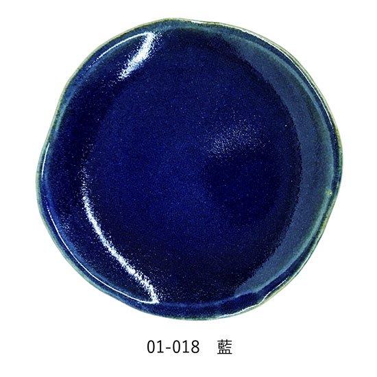 益子焼5寸皿(全6色)