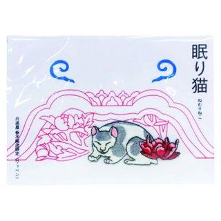 京東都 日光 眠り猫ワッペン