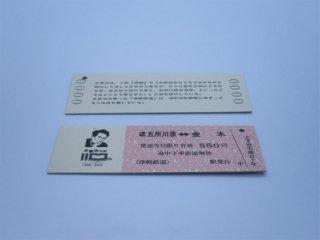 太宰治生誕110年記念乗車券
