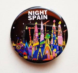 """缶バッチ """"夜のスペイン"""""""
