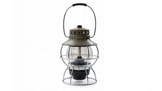 BAREBONES LIVING レイルロードランプ LED ランタン オリーブドラブ