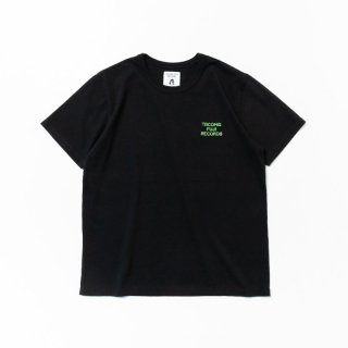 TACOMA FUJI ZEBRA LOGO embroidery Tee designed by Jerry UKAI BLACK