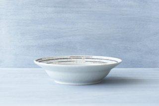 リムストライプ8寸浅鉢